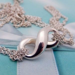 Authentic Tiffany Infinity Necklace